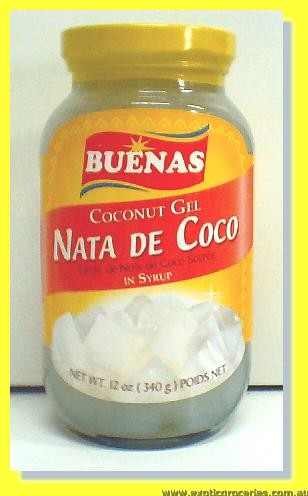 Coconut Gel in Syrup (Nata De Coco)