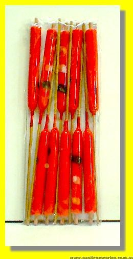 Red Candles 10pcs