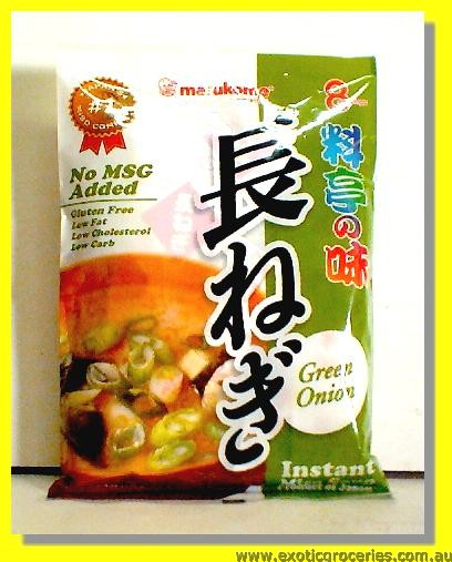 Instant Miso Soup Green Onion Flavour 8 Servings