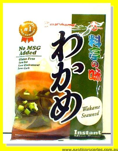 Instant Miso Soup Wakame Seaweed Flavour 8pcs