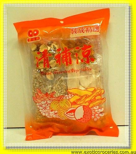 Dried Assorted Vegetable Soup Mix (Ching Po Leung Soup Mix)