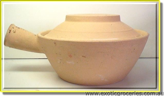 1 Handle Clay Pot 18.5cm