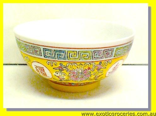 Yellow Longevity Bowl 5""
