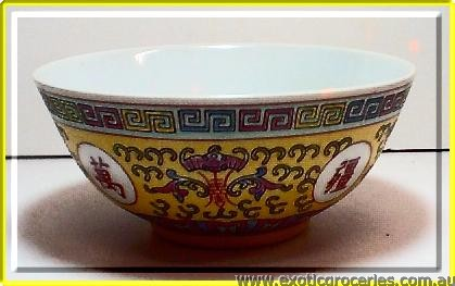 Yellow Longevity Bowl 6""
