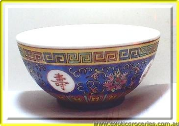 "Blue Longevity Bowl 5"" 8415"