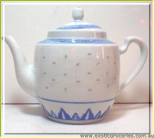 Rice Pattern Tall Teapot 2172