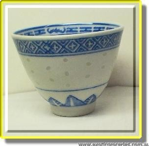 Rice Pattern Tea Cup GP802