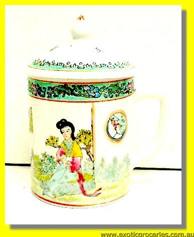 Chinese Tea Mug with Lid