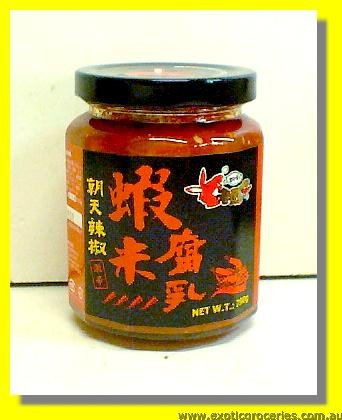 Fermented Beancurd with Shrimp