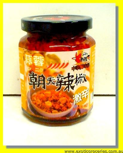 Garlic Chilli Paste