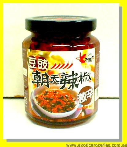 Hot Pickled Soybean (Black Bean)