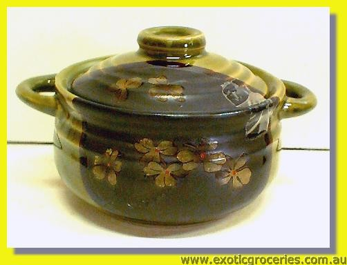 "Japanese Style Green Tureen 4.5"" #211"