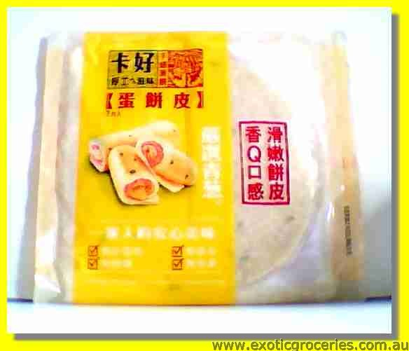 Frozen Egg Roll Skin 7pcs