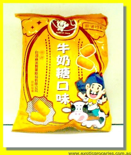 Milk Candy Flavour Corn Snack