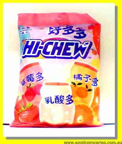 Hi-Chew Fruit Candy Strawberry & Orange Flavour