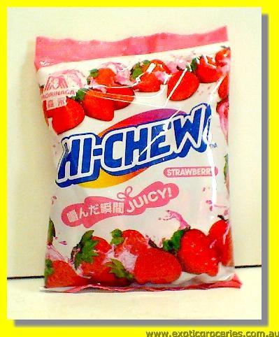 Hi Chew Strawberry Flavour