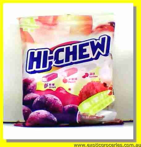 Hi Chew Mix Pink (Grape, Peach & Lychee Flavour)