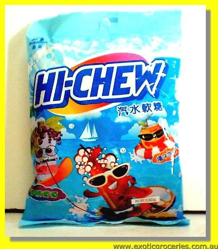 Hi-Chew Fruit Candy Soda Flavour