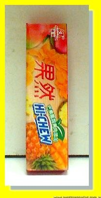 Hi-Chew Mango and Pineapple flavour Chewy Candy