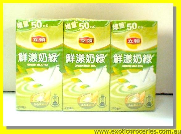 Green Milk Tea 6packs