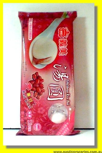 Frozen Glutinous Rice Ball Red Bean Flavour 10 pcs