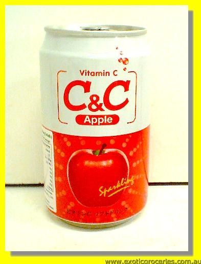 C&C Apple Sparkling Drink