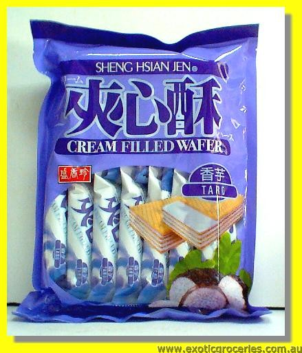 Taro Cream Filled Wafer