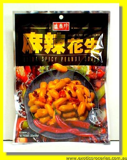 Ultra Spicy Peanut Snack 4pkts