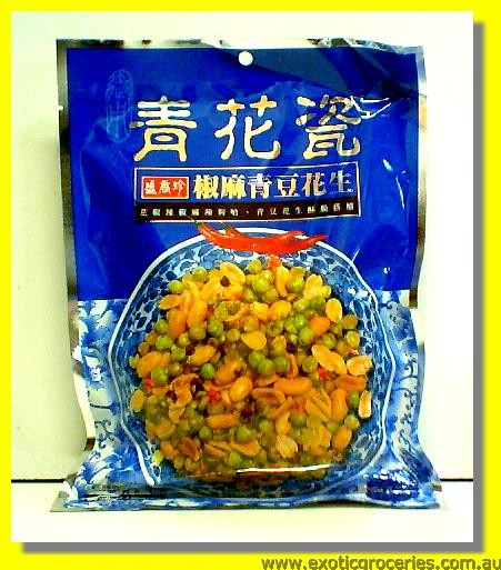 Ultra Spicy Green Peas & Peanuts