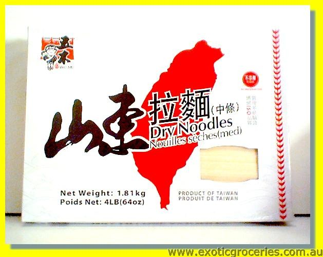 Dry Noodle  Medium Thick