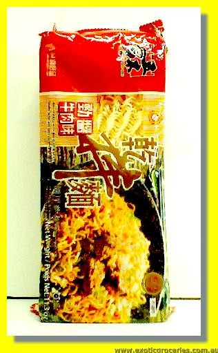 Dried Noodle with Beef Flavour Sauce 4pcs