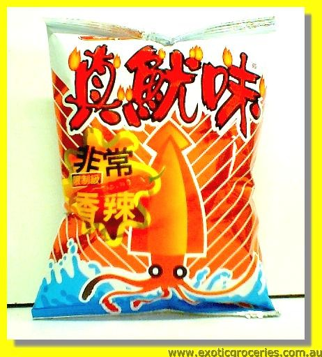 Squid Crackers (Spicy)