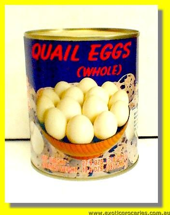 Quail Eggs Whole