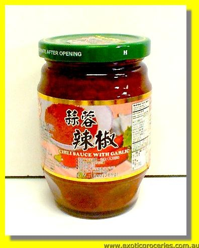 Chilli Sauce with Garlic