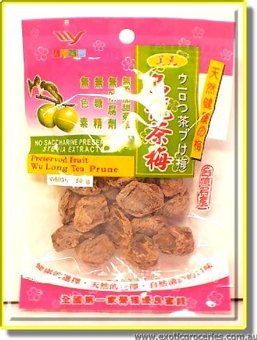 Wu Long Tea Prune