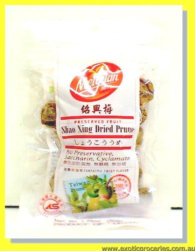 Shao Xing Dried Prune
