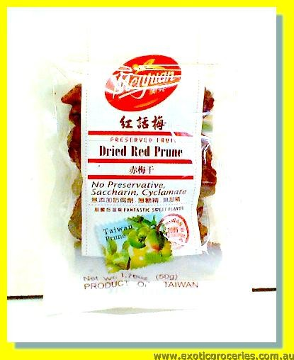 Dried Red Prune