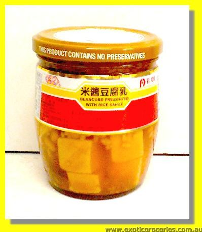 Bean Curd Preserved With Rice Sauce