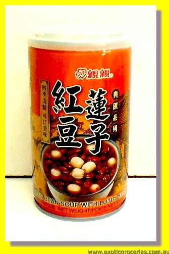 Red Bean Soup with Lotus Seed