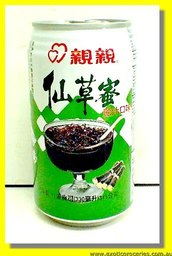 Grass Jelly Drink Sugar Cane Flavour