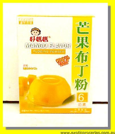 Mango Flavour Pudding Powder