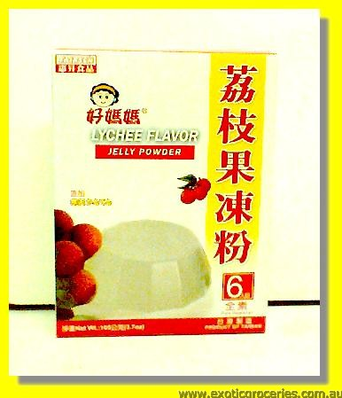 Lychee Flavour Jelly Powder
