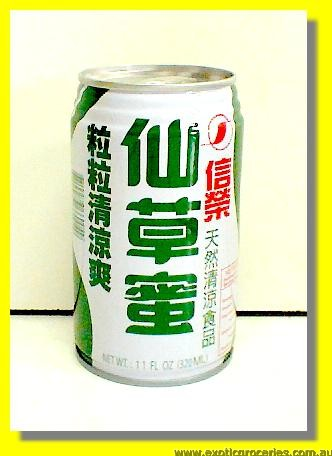 Grass Jelly Herbal Tea