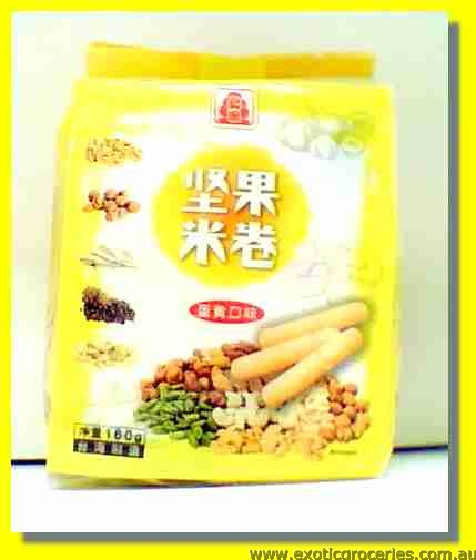Nuts Rice Roll Egg Flavour