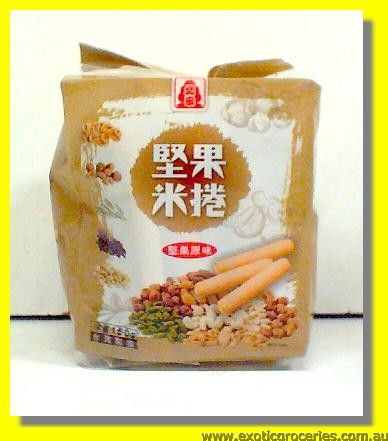 Nuts Rice Roll Nuts Flavour