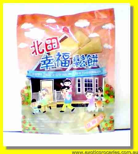 Happiness Rice Cookies Caramel Flavour