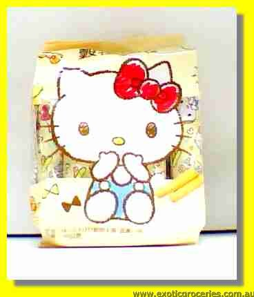 Hello Kitty Grains Rice Roll Egg Yolk Flavour