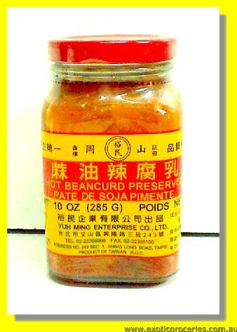 Hot Bean Curd Preserved