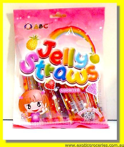 Assorted Jelly Straws