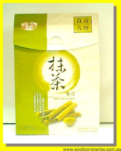 Green Tea Egg Roll